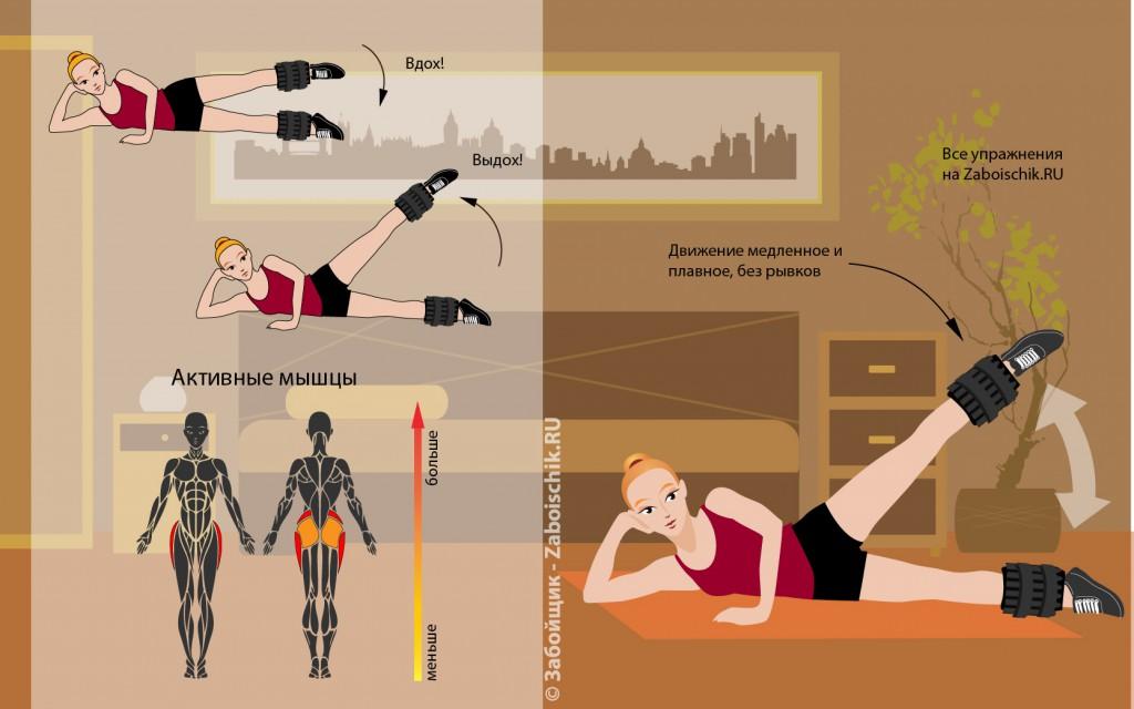 Похудеть мышцы в домашних условиях 350